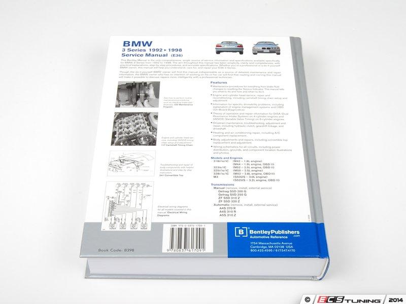 bmw bentley manual e36