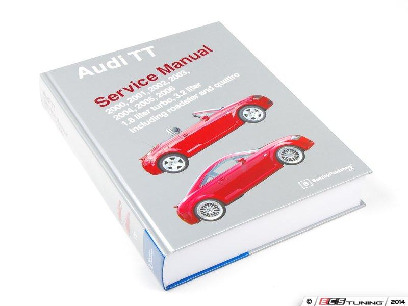 audi tt repair manual pdf