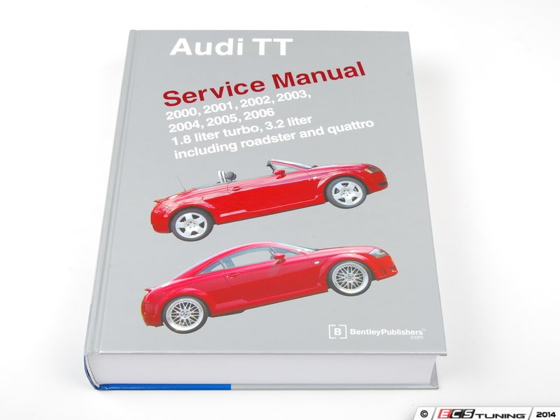 ecs news bentley service manuals for your audi mk1 tt 225hp rh ecstuning com Audi TT Service Manual 2008 audi tt repair manual pdf