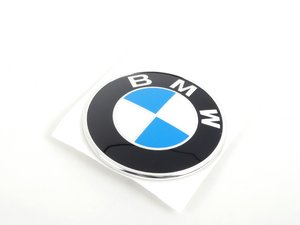 ES#79400 - 51148164928 - BMW Emblem / Roundel - Tired of looking at your faded BMW Badge? Replace it with the Genuine OEM Roundel - Genuine BMW - BMW