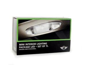 ES#2756559 - 63302321991 - MINI Interior LED Light Retrofit Kit - Add leds to the interior of your MINI - Genuine MINI - MINI