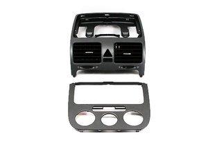 ES#6838 - 1K0898013 - Anthracite Dash Kit - 2-piece kit to give a little flair to your MKV dash - Genuine Volkswagen Audi - Volkswagen