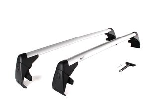 ES#2075215 - 1k0071126 - Roof Rack Base Bars - Base carrier kit only, does not include any attachments - Genuine Volkswagen Audi - Volkswagen