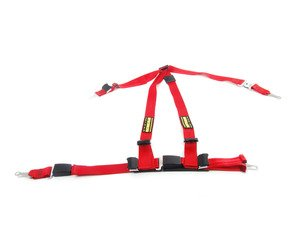 ES#2771866 - SR16652-56 - Quick Fit Harness - Red - Right - A DOT approved harness that utilizes factory attachment points - Schroth - MINI