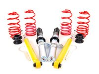 "ES#2770724 - 28851-11 - Street Performance Coilover Kit - Unrivaled comfort and performance. Average lowering of 1.5""-2.3""F 1.1""-2.0""R - H&R - Volkswagen"