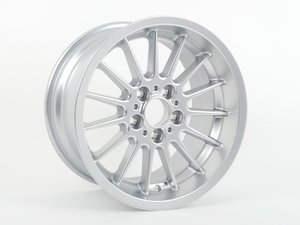 "ES#64336 - 36111092962 - 17"" Radial Spoke Style 32 Wheel - Priced Each - 17x9 ET 26 CB 74.1mm. - Genuine BMW - BMW"