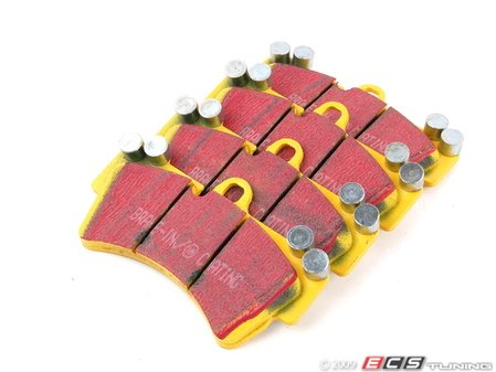ES#520863 - DP41473R -  Front YellowStuff Performance Brake Pad Set - A race-quailty pad that can be used at the track and back home again - EBC - Audi Volkswagen Porsche