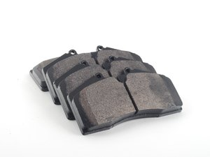 ES#2748419 - HB141B.650 - Front HPS 5.0 Performance Brake Pad Set - Next generation high performance street brake pad offering greater stopping power and pedal feel, with very low dust and noise - Hawk - Audi Porsche
