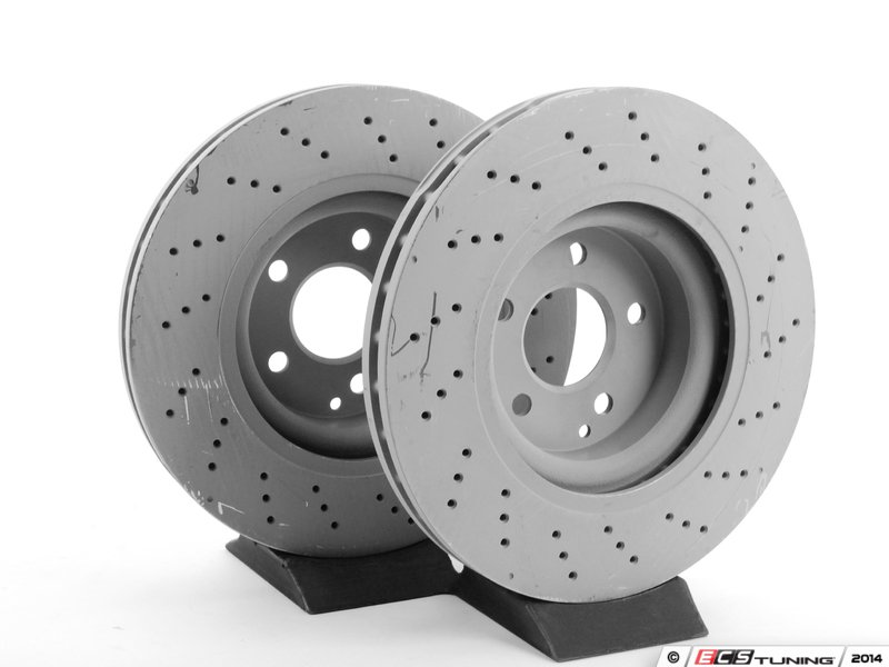 Genuine Mercedes Benz 2304210812kt1 Front Brake Rotors