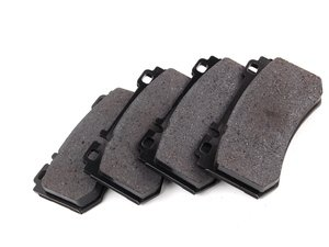 ES#1885252 - 0034206220 - Rear Brake Pad Set - Does not include brake pad wear sensor - Original Equipment Supplier - Mercedes Benz
