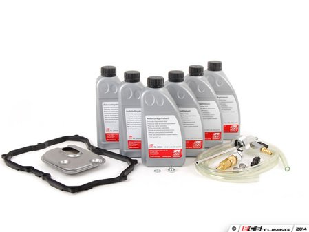 ES#2777519 - 09M325429 -  6-Speed Automatic Transmission Service Kit - with Service Tool - Save time and money with a transmission service kit from ECS. Includes Febi trans fluid, filter, and a pan gasket from OE suppliers. - Assembled By ECS - Volkswagen