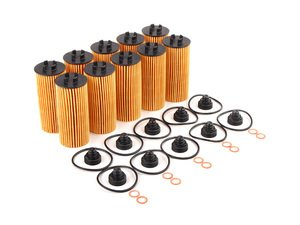 ES#2771445 - 11428570590KT4 - Oil Filter Kit With O-Ring - 10 Pack - Multi-pack oil filter kits to ensure your oil stays contaminant free : Gen 3 MINIs - Genuine MINI - MINI