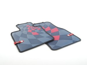 ES#2715004 - 51472354162 - Front Rubber Factory Floor Mats Set JCW Pro - Priced As Set - Replace or upgrade to factory MINI mats - Genuine MINI - MINI