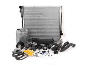 ES#2739569 - ECSE531711-11 - ECS Cooling System Refresh Kit - Level 3 - The ultimate cooling refresh kit - with aftermarket components, featuring an Aluminum Pulley and a GEBA water pump - Assembled By ECS - BMW
