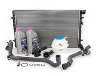ES#2588416 - MKIVJTCRK20 - Cooling System Refresh Kit - OE - Everything needed for a full cooling system overhaul - Assembled By ECS - Volkswagen
