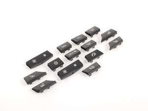 ES#2633963 - 61319313924 - Replacement button Set - Replace your worn buttons - Genuine BMW - BMW