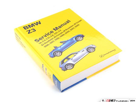 ES#252352 - BZ02 - BMW Z3 (1996-2002) Service Manual - A comprehensive must-have for any do-it-yourselfer! Includes 1152 pages of maintenance, service, and repair information! - Bentley - BMW