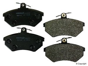 "ES#571 - MDB1253D - Red Box Brake Pads - To be used with 256mm/10.1"" rotors only - Mintex - Volkswagen"