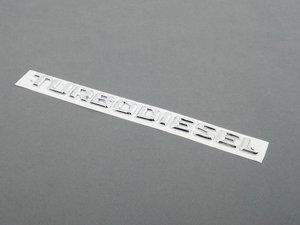 """ES#1725334 - 2028172115 - """"TURBODIESEL - Genuine Mercedes Benz -"""