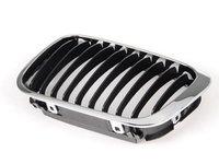 ES#2709220 - 51138208487 - Kidney Grille - Left - Chrome outer design with black slats - URO -