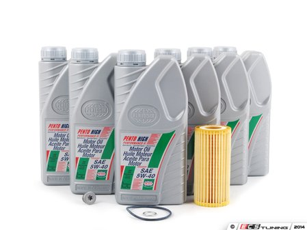 ES#2777828 - 06L115562KT4 - Oil Service Kit - Includes Genuine oil filter and Pentosin high performance 5W-40 synthetic engine oil - Assembled By ECS - Volkswagen