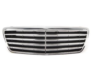 ES#2724137 - 21088006839040 - Radiator Grille Assembly - Black Finish (Code 9040) - EZ - Mercedes Benz