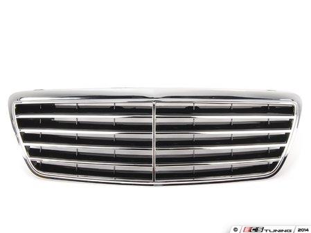 ES#2724137 - 21088006839040 - Radiator Grille Assembly - Black Finish (Code 9040) - EZ - Mercedes Benz