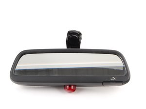 ES#83634 - 51167124708 - Rear View Mirror - Includes LED for alarm system and SOS call button - Genuine BMW - BMW