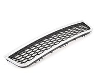 ES#372177 - 4B3807647F1L1 - Grille - Aluminum / Matte Black - Center - Keep your exterior looking great - Genuine Volkswagen Audi - Audi