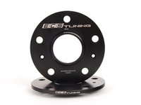 ES#2855674 - 001366ecs08KT2 - ECS Wheel Spacers - 8mm - One pair of wheel spacers without lug bolts - ECS - Audi Volkswagen Porsche