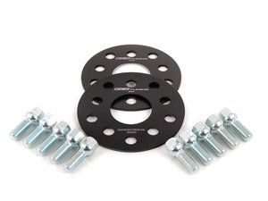 ES#250723 - ECS10153KTWB -  ECS Wheel Spacer And Bolt Kit - 4mm With Ball Seat Bolts - Comes with everything you need to install spacers on two wheels - ECS - Audi Volkswagen