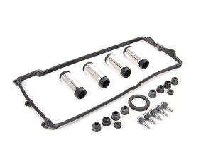 ES#2765669 - 11127513195KT2 -  Valve Cover Gasket kit - For Cylinders 5-8 includes spark plug tubes - Genuine BMW - BMW