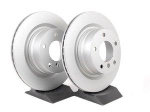 ES#2749079 - 34216855005mkt - Rear Brake Rotors - Pair (300x20) - Featuring a protective Meyle Platinum coating. - Meyle - BMW