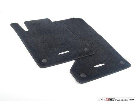 ES#1820886 - 66294134 - Carpeted Floor Mats - Set Of Four - Black - Genuine Mercedes Benz - Mercedes Benz