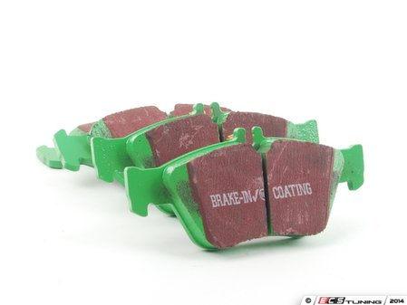 ES#519680 - DP21055 - Front GreenStuff Performance Brake Pad Set - Designed as a mildly upgraded pad, great for an afternoon of sporty driving. - EBC - Mercedes Benz