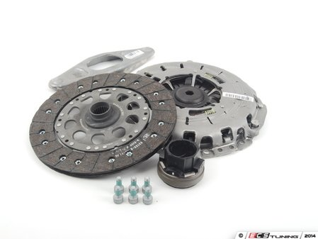 ES#2767775 - 21207626561 - Clutch Kit - Includes clutch disc, pressure please, and throwout bearing - Genuine BMW - BMW