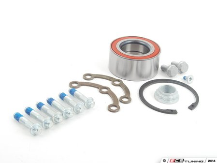 ES#2702899 - 2029800116 - Rear Wheel Bearing Kit - Priced Each - Includes wheel bearing, flange, snap ring and axle nut - FAG - Mercedes Benz