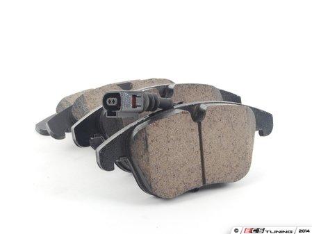 ES#2770823 - EUR1375 - Front Euro Ceramic Brake Pad Set - Ceramic composite developed to meet low dust & noise requirements - Akebono - Audi Volkswagen