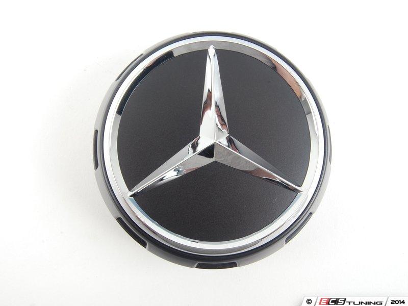 Genuine mercedes benz 00040009009283 center cap for Mercedes benz black center caps