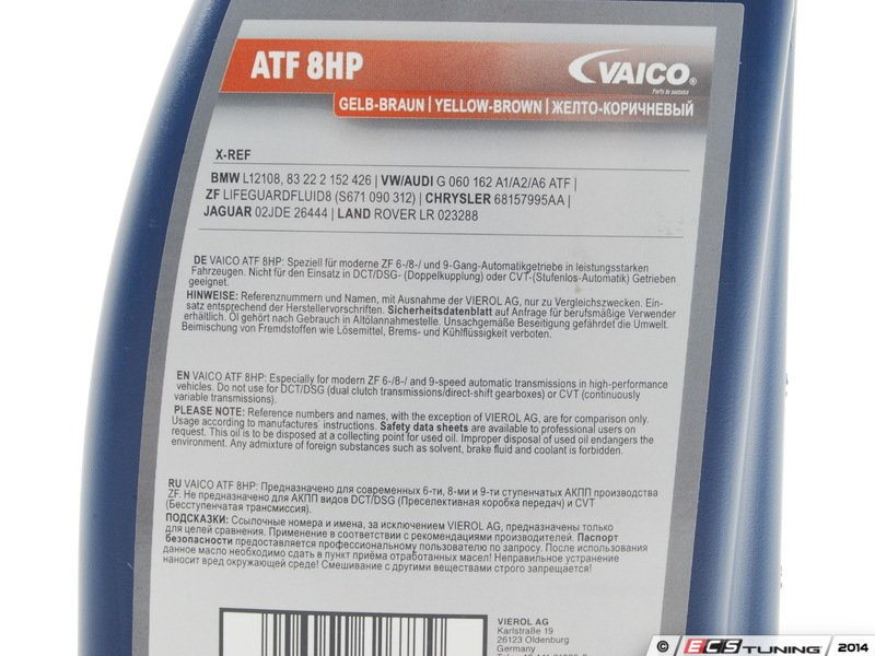 Vaico 83222305397 Automatic Transmission Fluid 1 Liter
