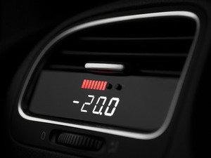ES#2771075 - P3MK6LRW - Integrated Digital Vent Gauge (Red & White Display) - Powerful plug-and-play multifunction display. - P3 Gauges - Volkswagen