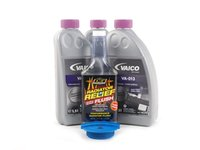 ES#2784773 - CO0LANTFLUSHKT2 - Cooling System Flush Kit - Keep your cooling system working at its best by keeping it clean and free of rust and scale deposits. Includes new expansion tank cap, flush treatment & G13 coolant. - Assembled By ECS - Audi Volkswagen