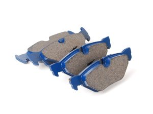 ES#2779688 - 7286-D1171 - Rear Cool Carbon S/T Performance Brake Pad Set - All-in-one brake pads that deliver pure undiluted performance - Cool Carbon Performance - BMW