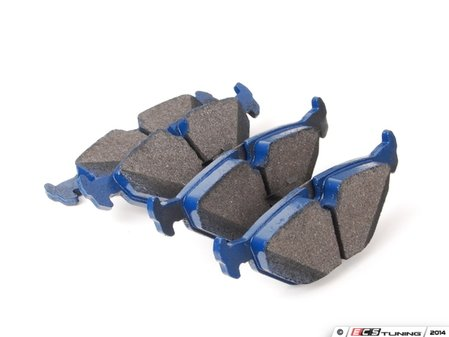ES#2779698 - 7631-D763 - Rear Cool Carbon S/T Performance Brake Pad Set - All-in-one brake pads that deliver pure undiluted performance - Cool Carbon Performance - BMW