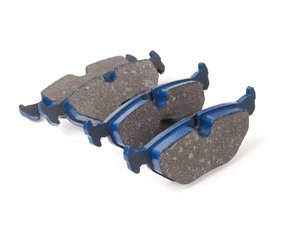 ES#2779687 - 7286-D692 - Rear Cool Carbon S/T Performance Brake Pad Set - All-in-one brake pads that deliver pure undiluted performance - Cool Carbon Performance - BMW