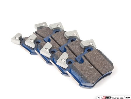 ES#2779706 - 8484-D1372 - Rear Cool Carbon S/T Performance Brake Pad Set - All-in-one brake pads that deliver pure undiluted performance - Cool Carbon Performance - BMW