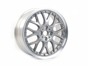 "ES#220534 - 36116768580 - R90 MINI Cross Spoke Composite Wheel 17"" (4x100) Anthracite - Priced Each  - 17 x 7J ET:48 BBS 2 piece wheels 24 Lbs each : newer part number - Genuine MINI - MINI"