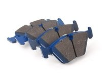 ES#2779696 - 7592-D946 - Front Cool Carbon S/T Performance Brake Pad Set - All-in-one brake pads that deliver pure undiluted performance - Cool Carbon Performance - BMW