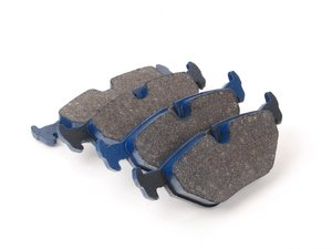 ES#2779686 - 7286-D396 - Rear Cool Carbon S/T Performance Brake Pad Set - All-in-one brake pads that deliver pure undiluted performance - Cool Carbon Performance - BMW