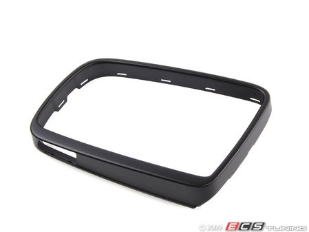 ES#83438 - 51167074953 - Cover Support Trim Ring - Left - Attaches to the outer edge of the mirror housing. - Genuine BMW - BMW
